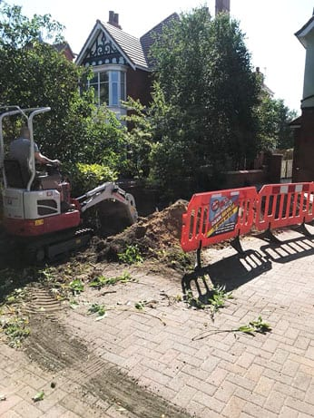 Digger Hire | Plant Hire | Blackpool - Steve Hastings Drain Services